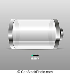 Battery icon desgin template - Battery vector icon desgin...