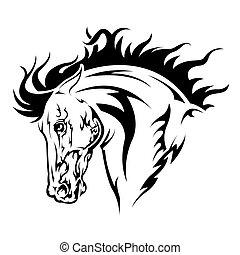 knight tattoo black and white - In the picture is black and...