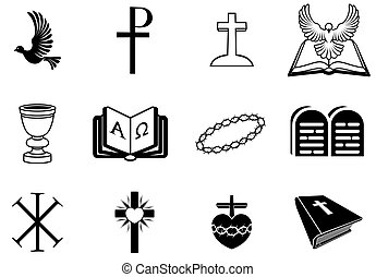 Christian religious signs and symbo