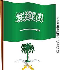 saudi arabia wavy flag
