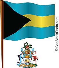 bahamas wavy flag