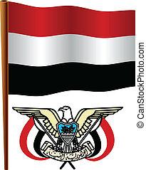 yemen wavy flag