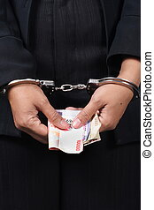 Corrupted businesswoman - woman, Collar Criminal Under...