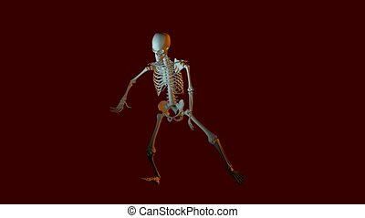 Dancing Skeleton Animation
