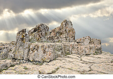 Megalithic architecture - observatory Kokino - An ancient...