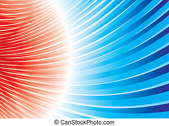 Magnetic storm - Powerful and dynamic background in bright...
