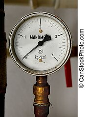 Manometer - Old rusty manometers