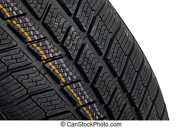 Winter Tyre - Winter tire detail