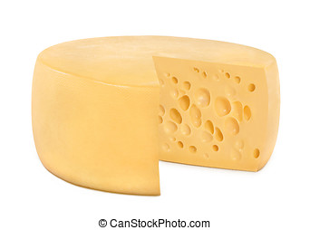 One wheel round cheese