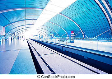 Maglev Train Station in Shanghai