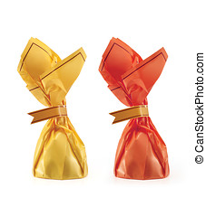 Candy isolated with clipping path