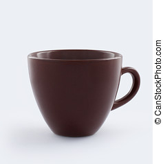 Cup isolated with clipping path