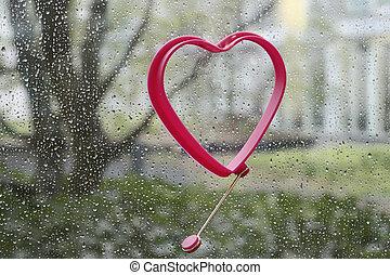Wahre Liebe auch bei Regen