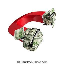 ímã, dólar