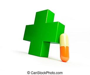pharmacy cross pills
