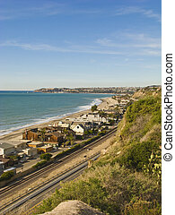 Dana Point from Capsitrano Beach Vertical - Dana Point...