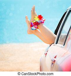 Summer car trip