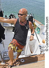Dive Boat Captain in the Cayman Islands - Dive Boat Captain...