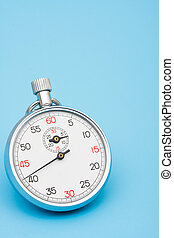 Quick Response Time - Stop watch with copy space very quick...