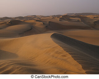 Desert of Huacachina - The desert of Huacachina is located...