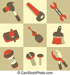 Hand Tool Icons