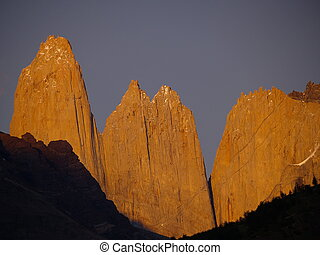 Torres del Paine - The Cordillera del Paine is a small but...