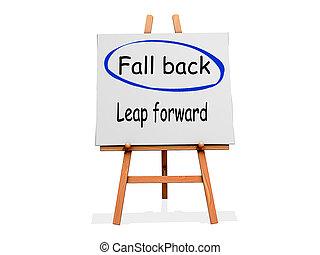 Fall Back Not Leap Forward
