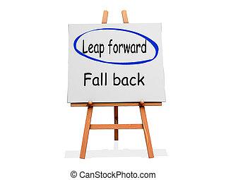 Leap Forward Not Fall Back