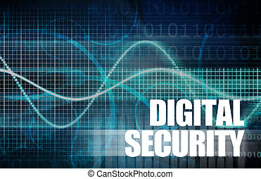 Digital Security Industry through Online Data Art