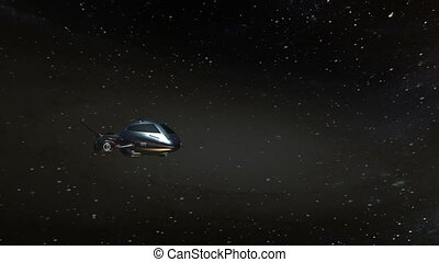 Space ship - image of space ship