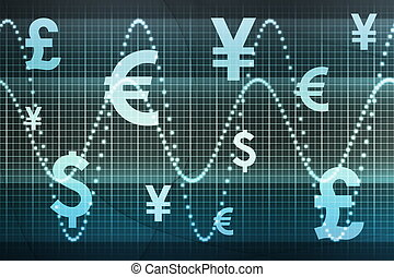 Financial Sector Global Currencies Abstract Background...