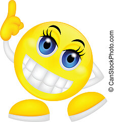 Loser emoticon - vector illustration of Loser emoticon