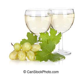 Grape juice Isolated on white background