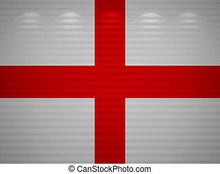 English flag wall, abstract background