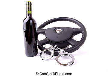 drink driving - concept of drink driving issue