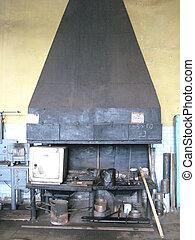 black old furnace for smithy - image of black old furnace...