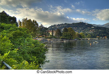 lake of Como - panorama lake of Como