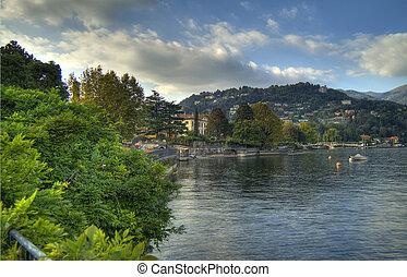 lake of Como - panorama lake of Como