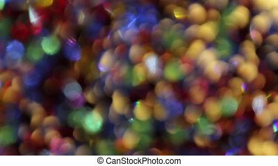 Colorful Moving Lights Background 2