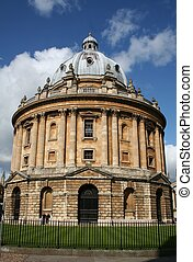 Bodleian Library in Oxford,England