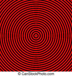 A0006_Hypnotize, czerwony, czarnoskóry, koło, graficzny