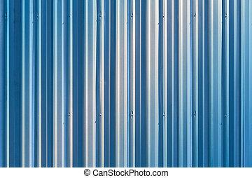 Metal sheet background - Corrugated metal sheet wall...