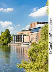 Royal Shakespeare Company Theatre, Stratford-upon-Avon,...
