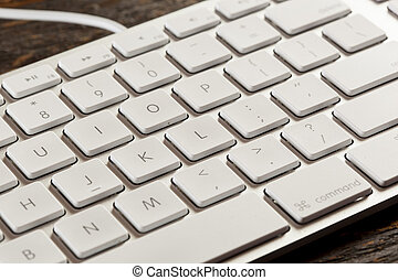 White and Grey Computer Keyboard - Grey Computer Keyboard...