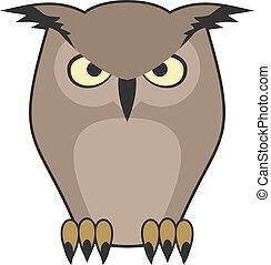 Icon owl - Creative design of icon owl