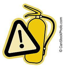 Icon fire - Creative design of icon fire