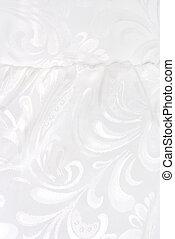 white fabric textile texture