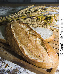 artisan bread - different types of freshly baked artisan...