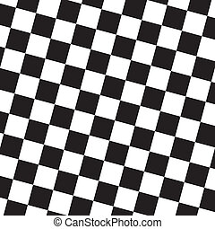 Oblique chessboard style background