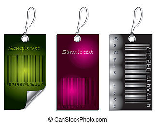 Bar-code label set